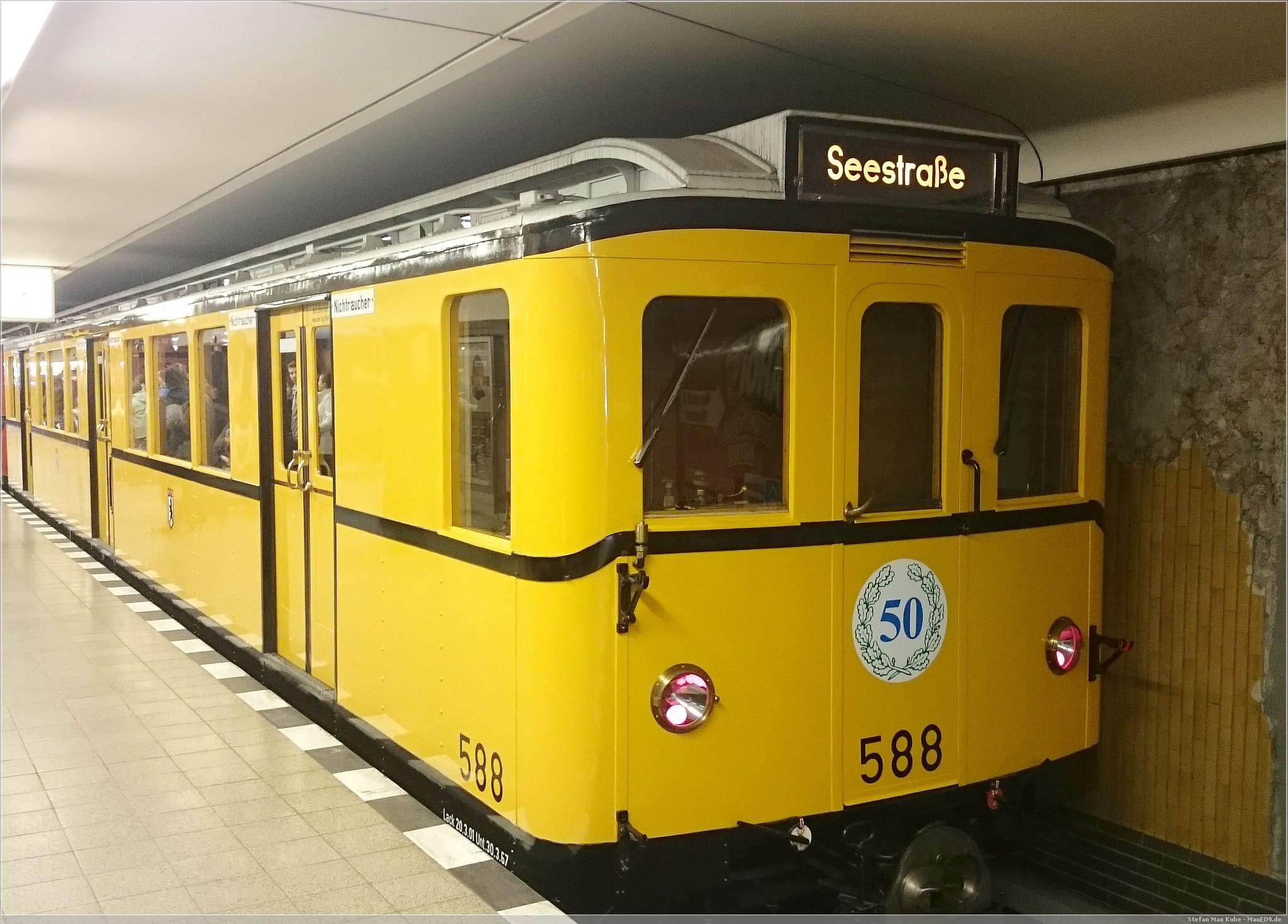 im Bahnhof Ullsteinstraße