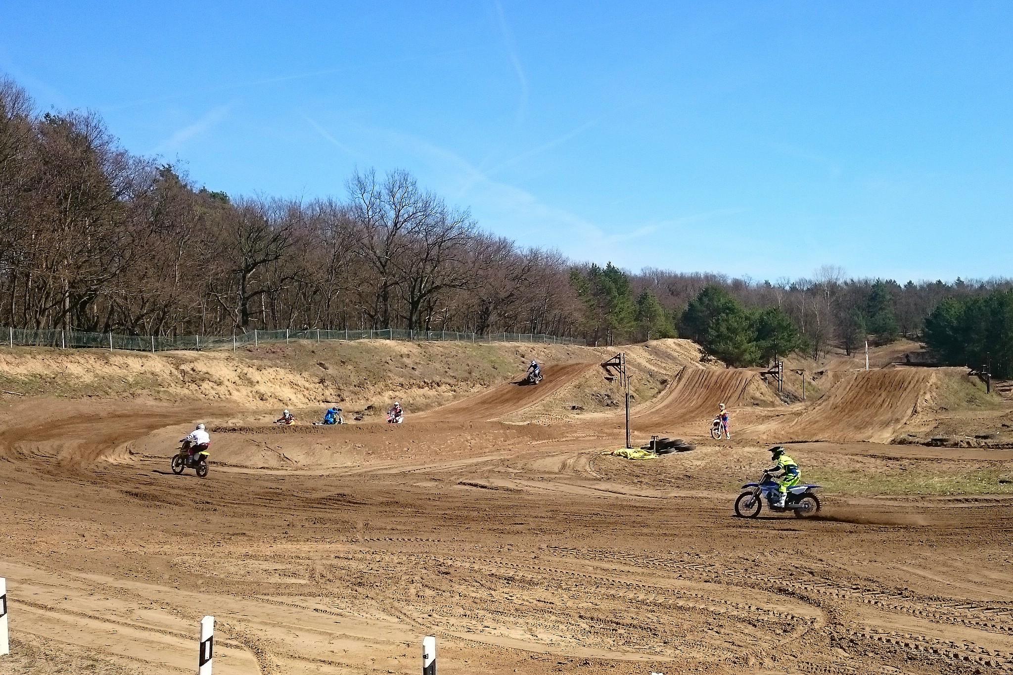 Motocross-Strecke