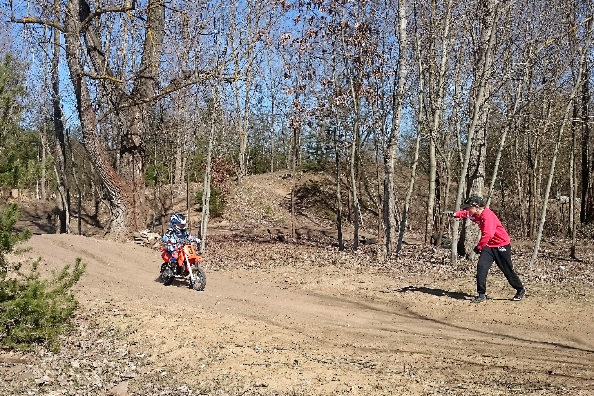 Motocross-Knirpse