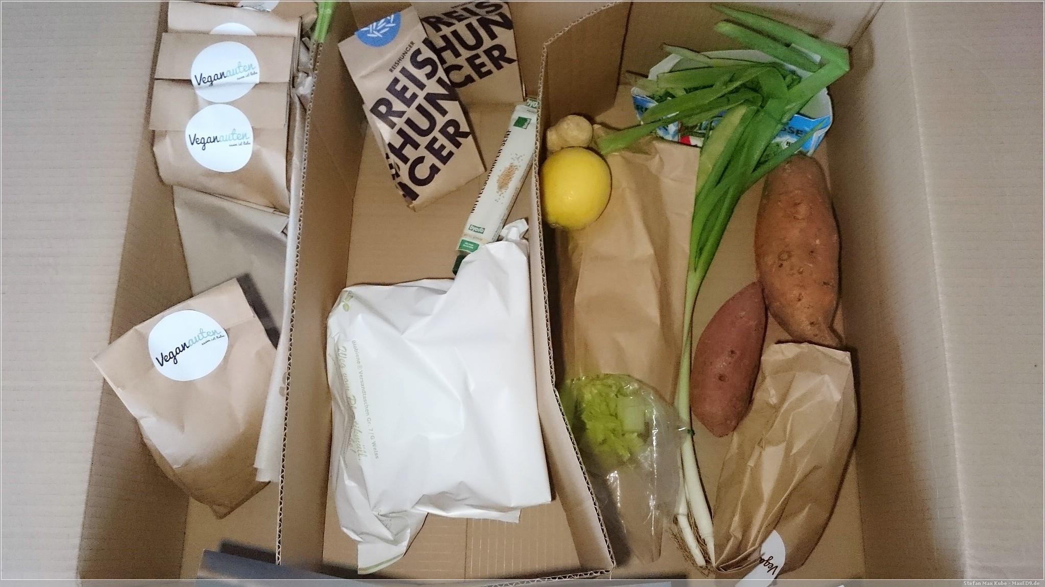 Veganauten Kochbox Paket