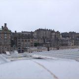 Old Town, Edinburgh von der North Bridge