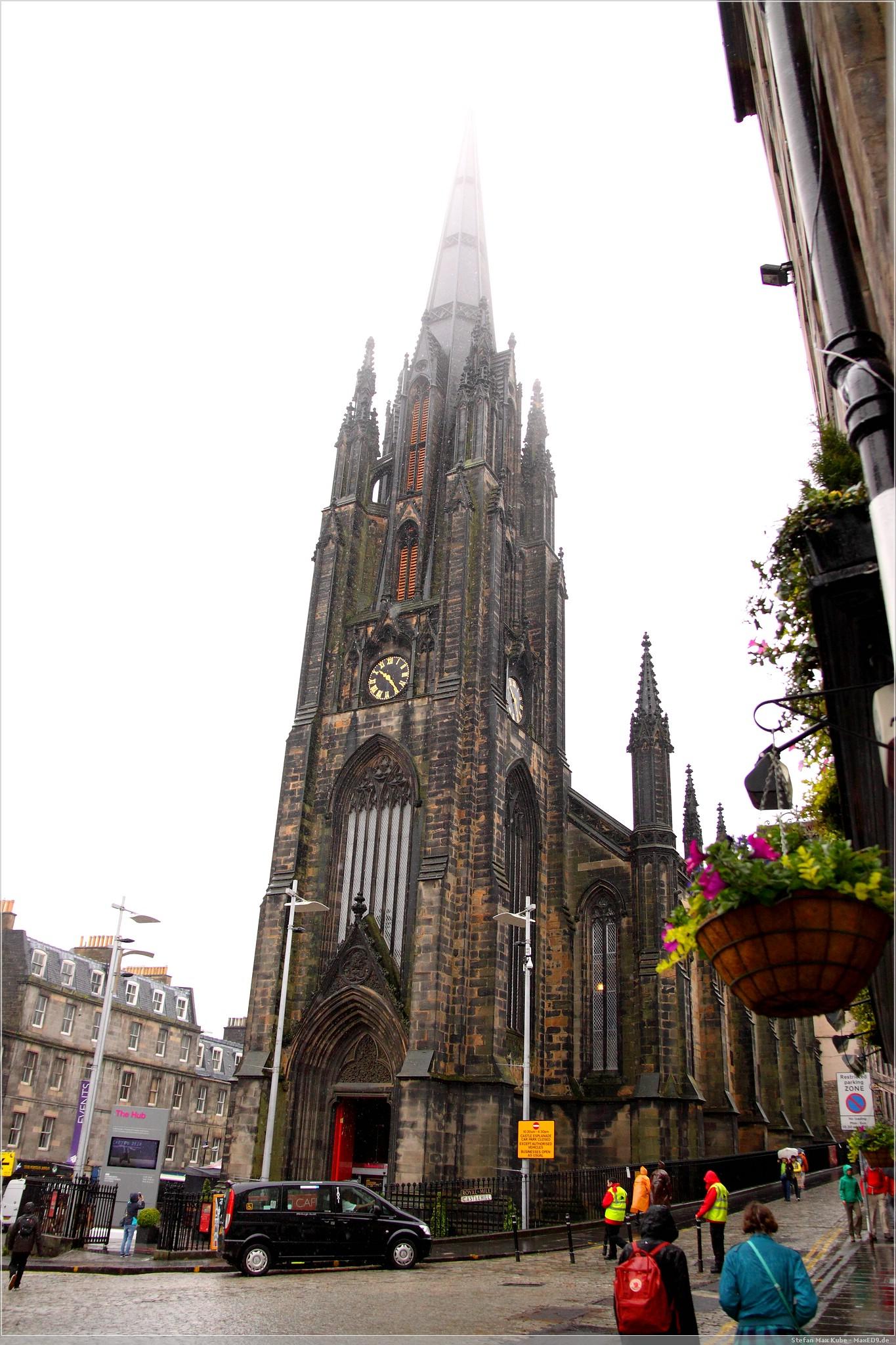 Edinburgh von oben