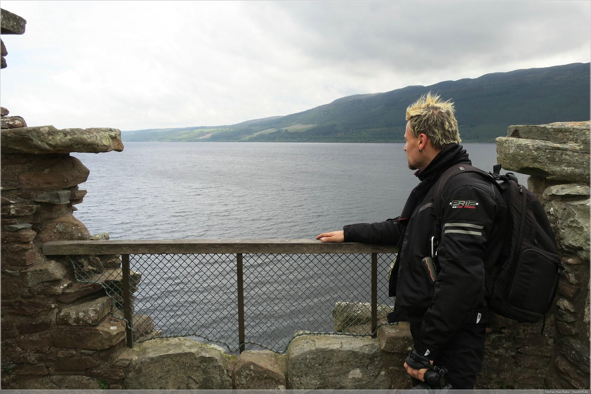 Blick über Loch Ness
