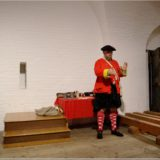 Living History, Red Coat Soldier, Fort George