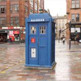 Police Box in Glasgow