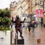 Alien in Glasgow