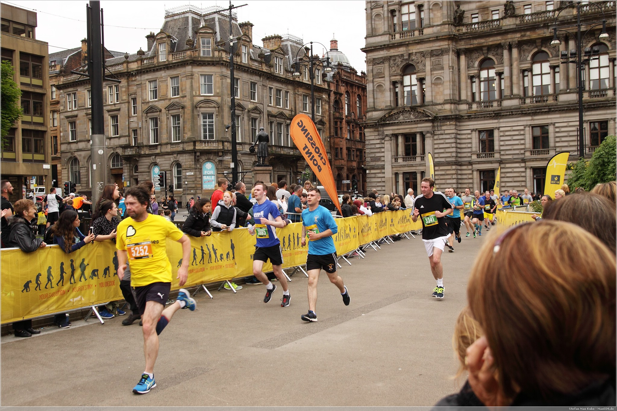 10k run @ Father's Day in Glasgow 2016