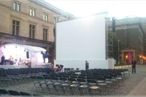UFA Filmnächte im Kolonadenhof der Museumsinsel