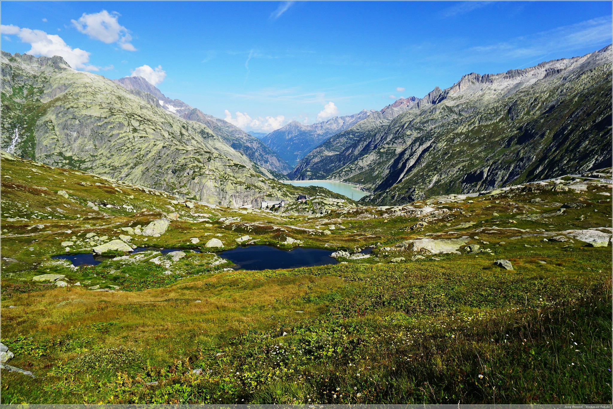 Grimselblick: Räterichsbodensee