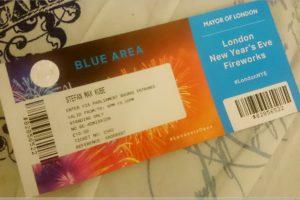 Ticket London Feuerwerk