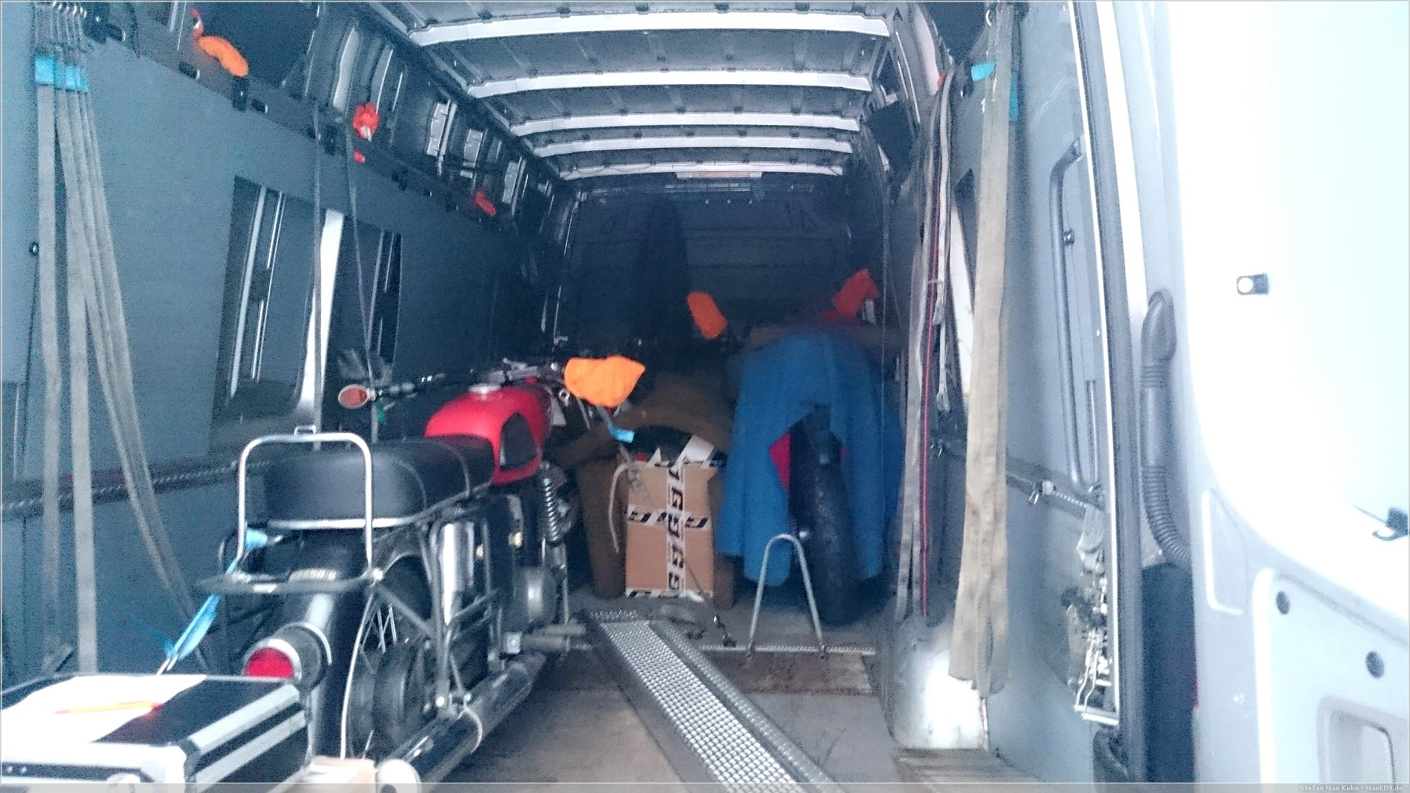 abenteuerlich: Honda CRF1000L Africa Twin in der Garage