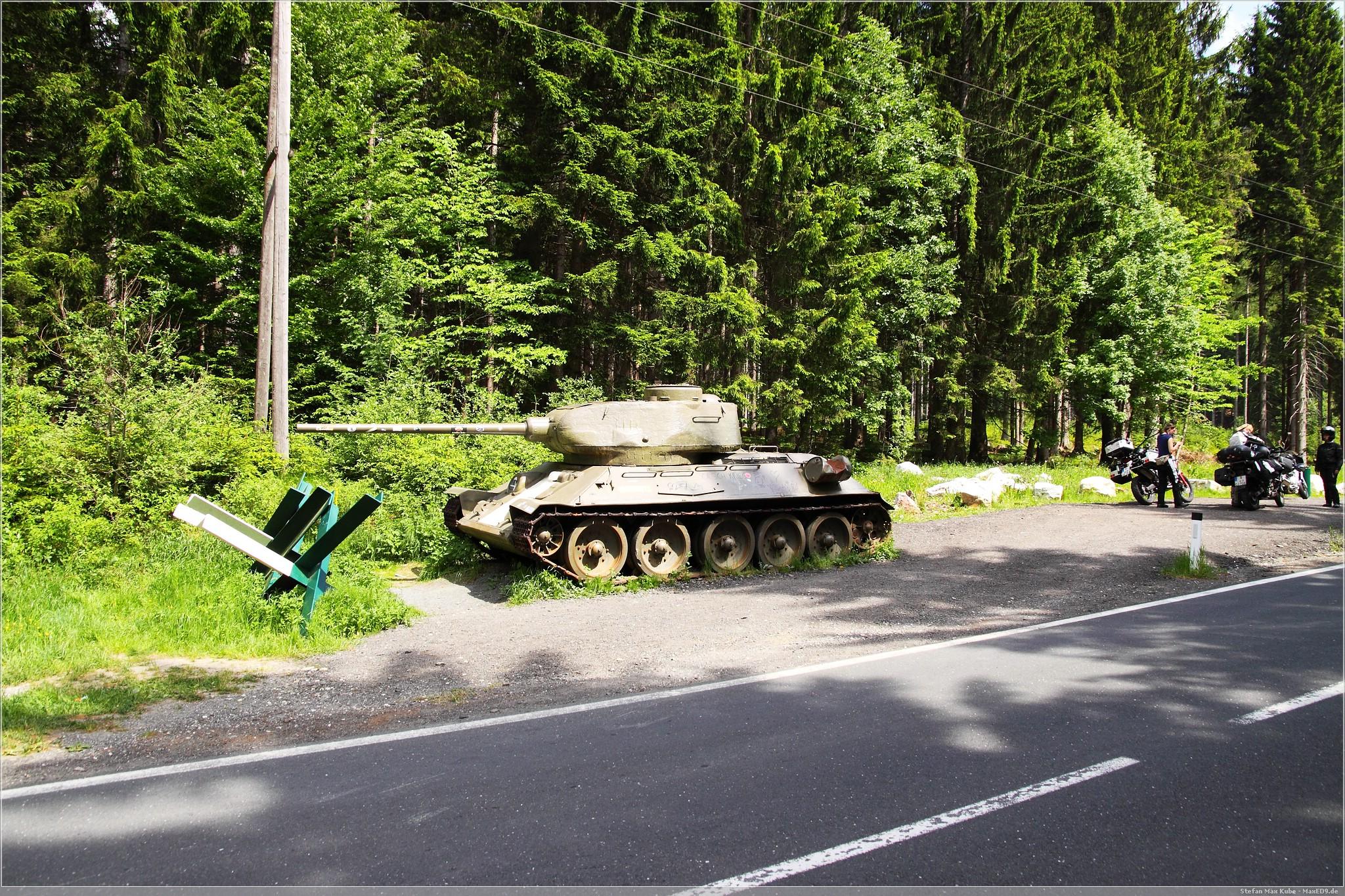 T-34 am Wurzenpass