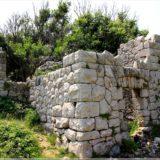Ruine bei Rudine