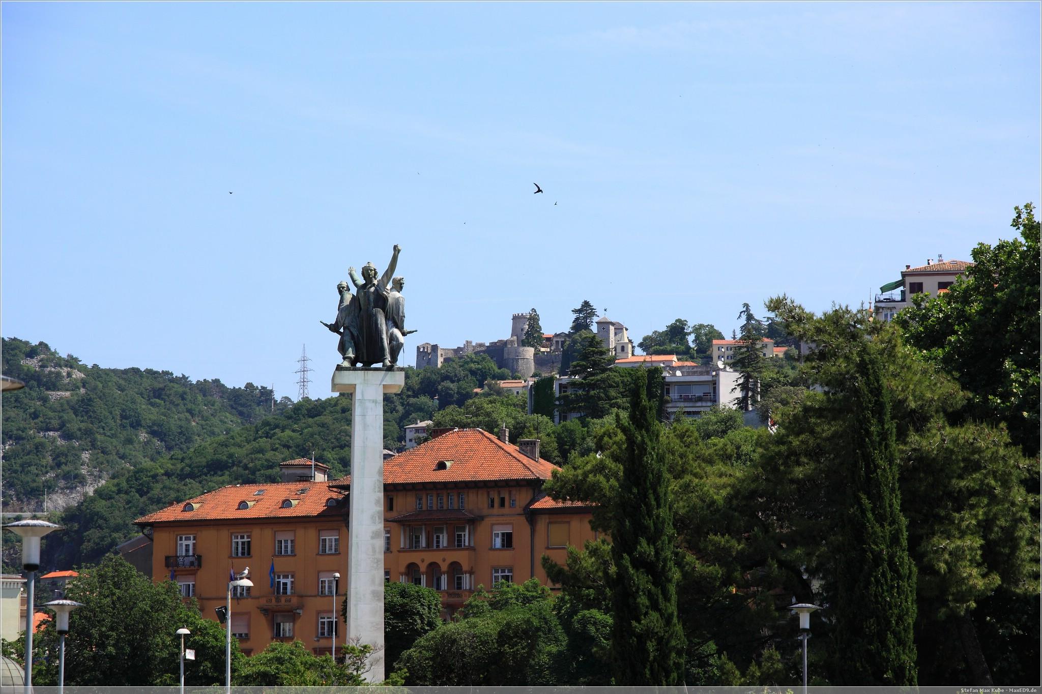 Rijeka, Liberation monument – Spomenik oslobođenja