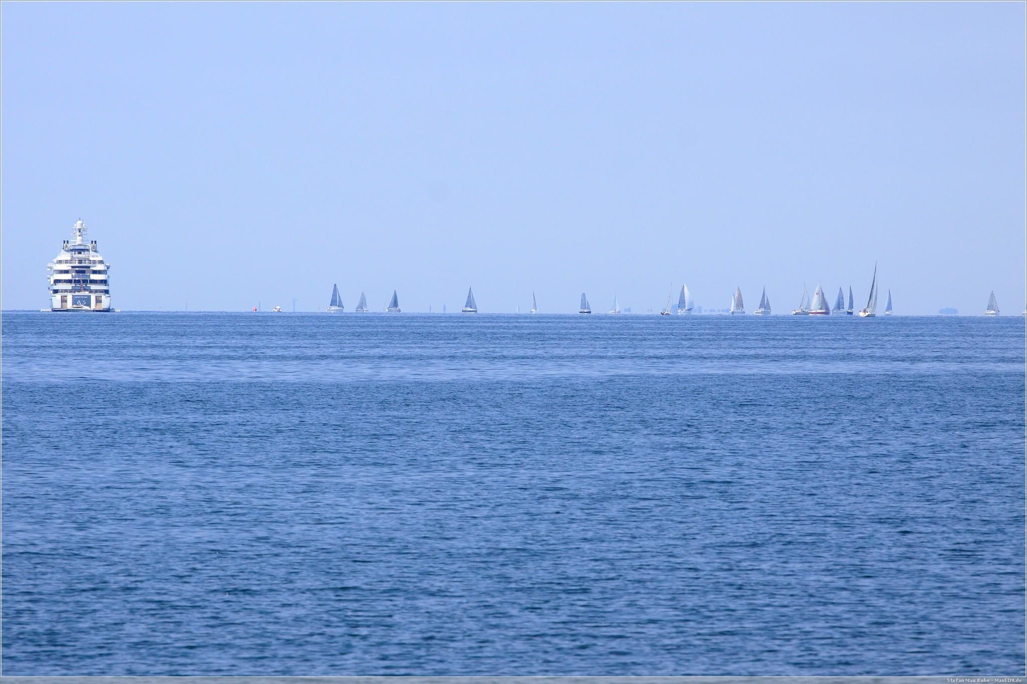 Segelboote vor Triest