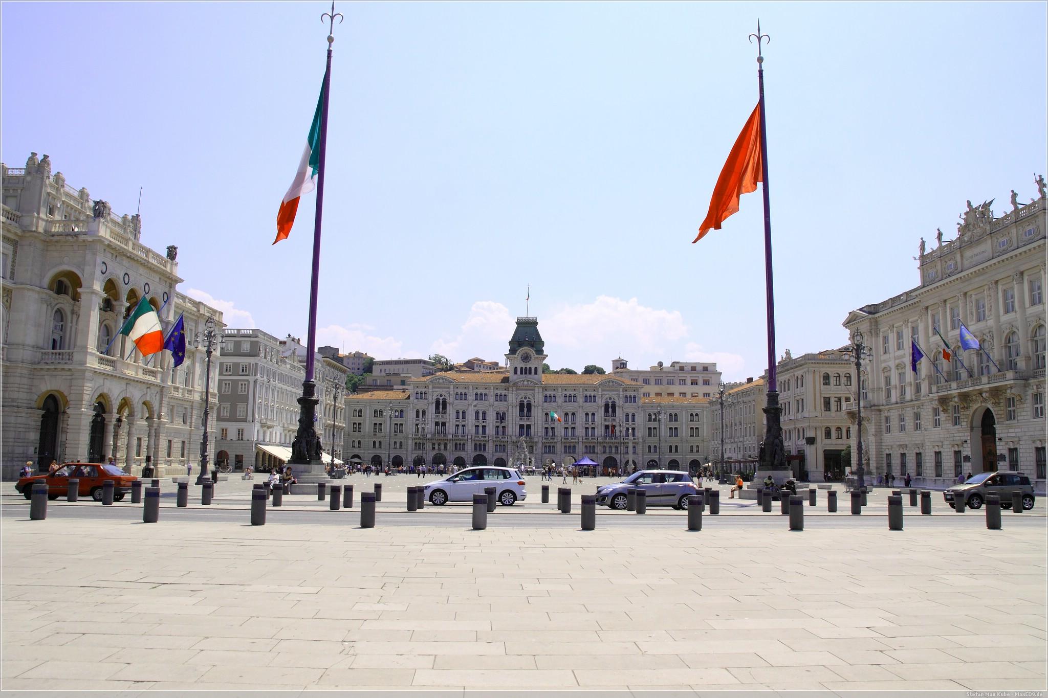 Piazza unita d'Italia, Triest