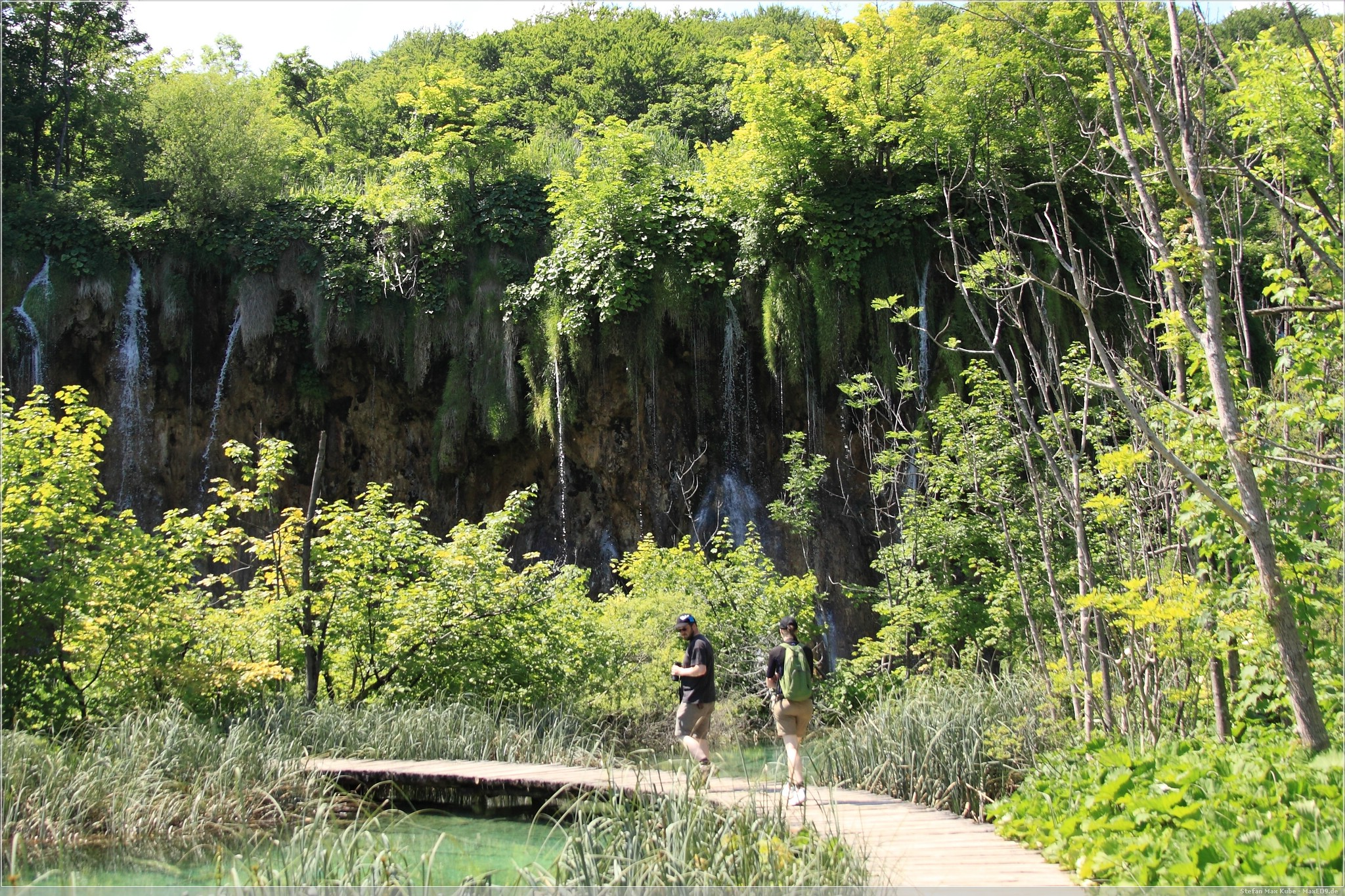 Jony und Fia, Plitvicer Nationalpark