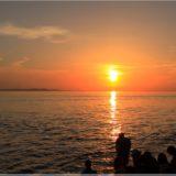 Sonnenuntergang über der Meeresorgel