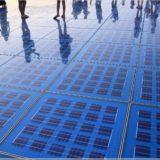 Solarlichtspiel in Zadar