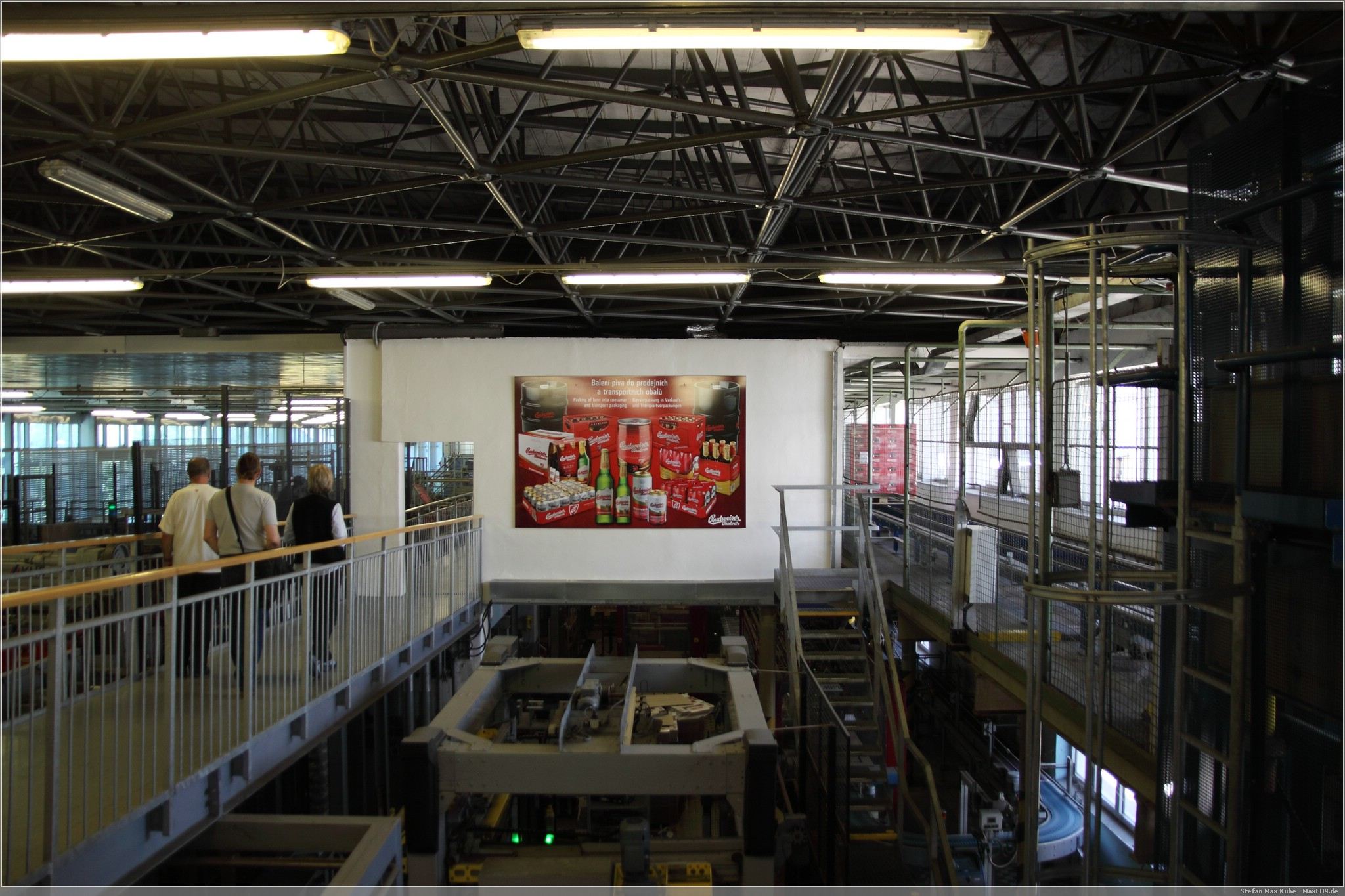 Abfüllung und Verpackung, Budweis Brauerei