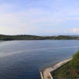 Blick nach Osten von der Zdrelac Brücke