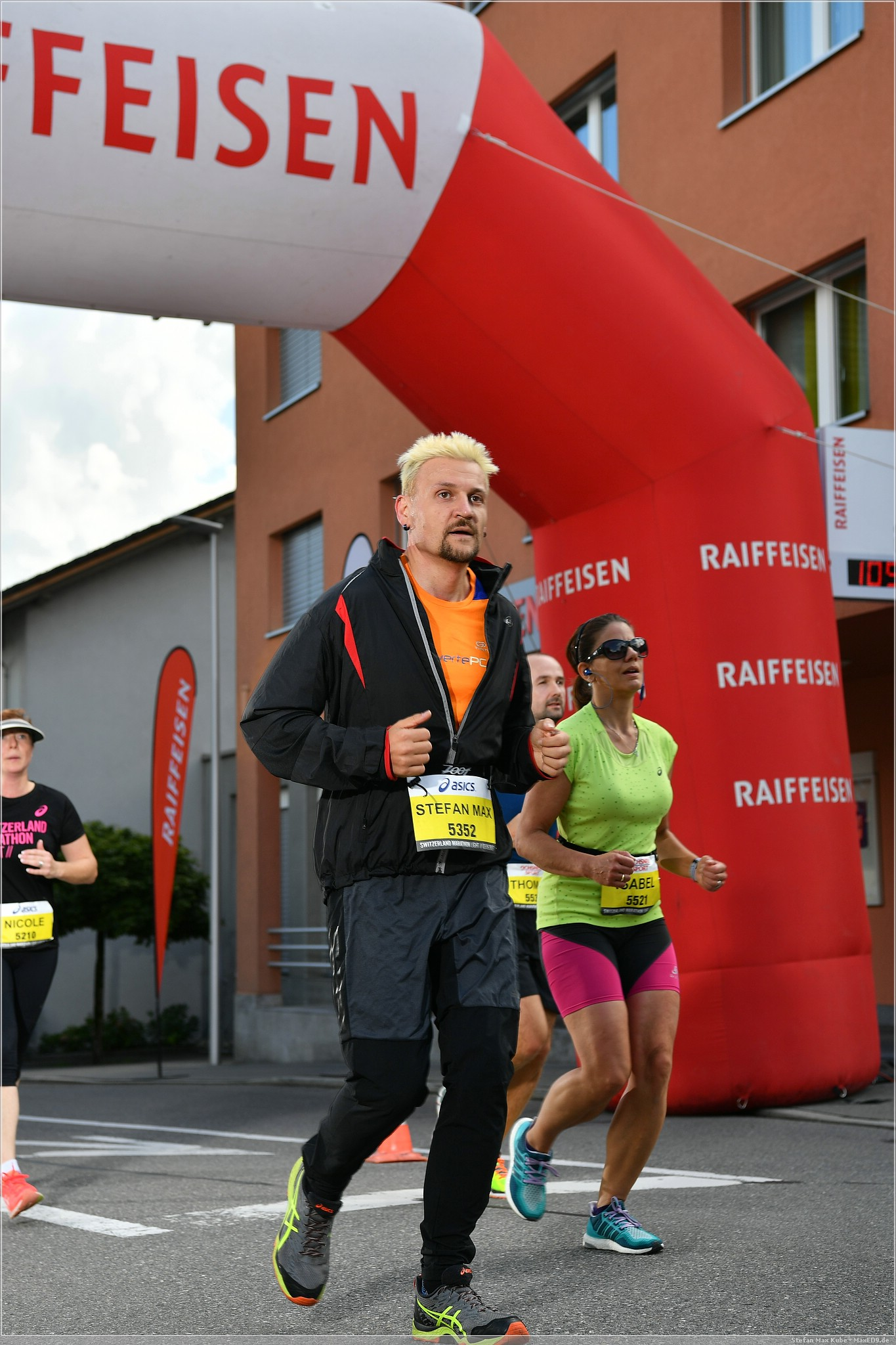 gelaufen: 10km beim Switzerland Marathon Light