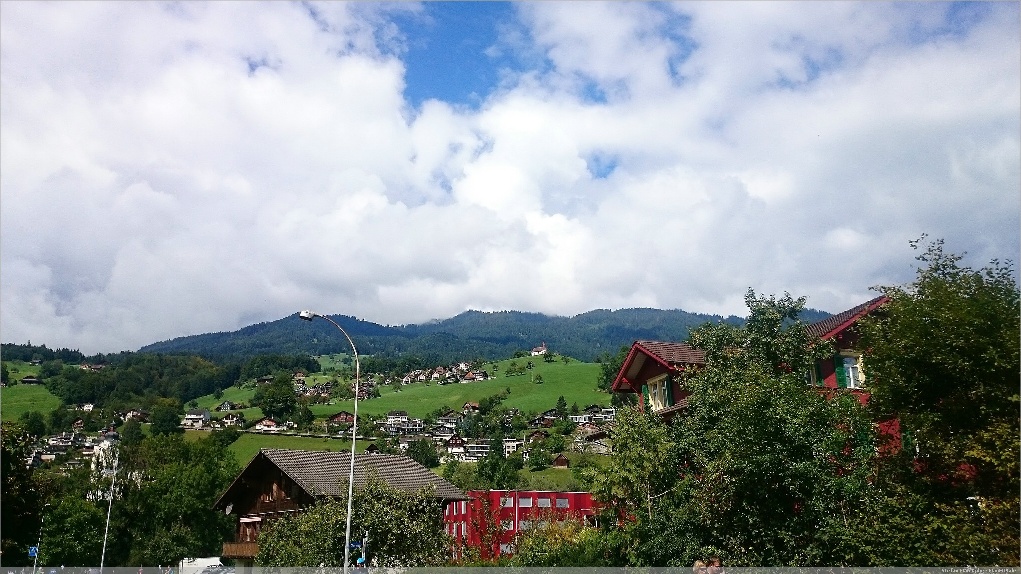 tolle Landschaft, gutes Wetter