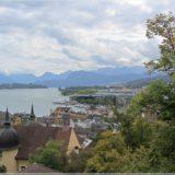 Blick über Luzern zum Viewaldstättersee