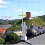St. Stanislaus Kathedrale und Gediminas-Turm