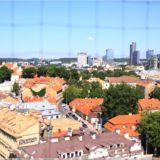 BLick über Vilnius vom Glockenturm