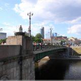 eine von vielen Brücken über die Wilna