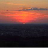 Sonnenuntergang Vilnius