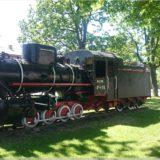Lokomotive in Türi