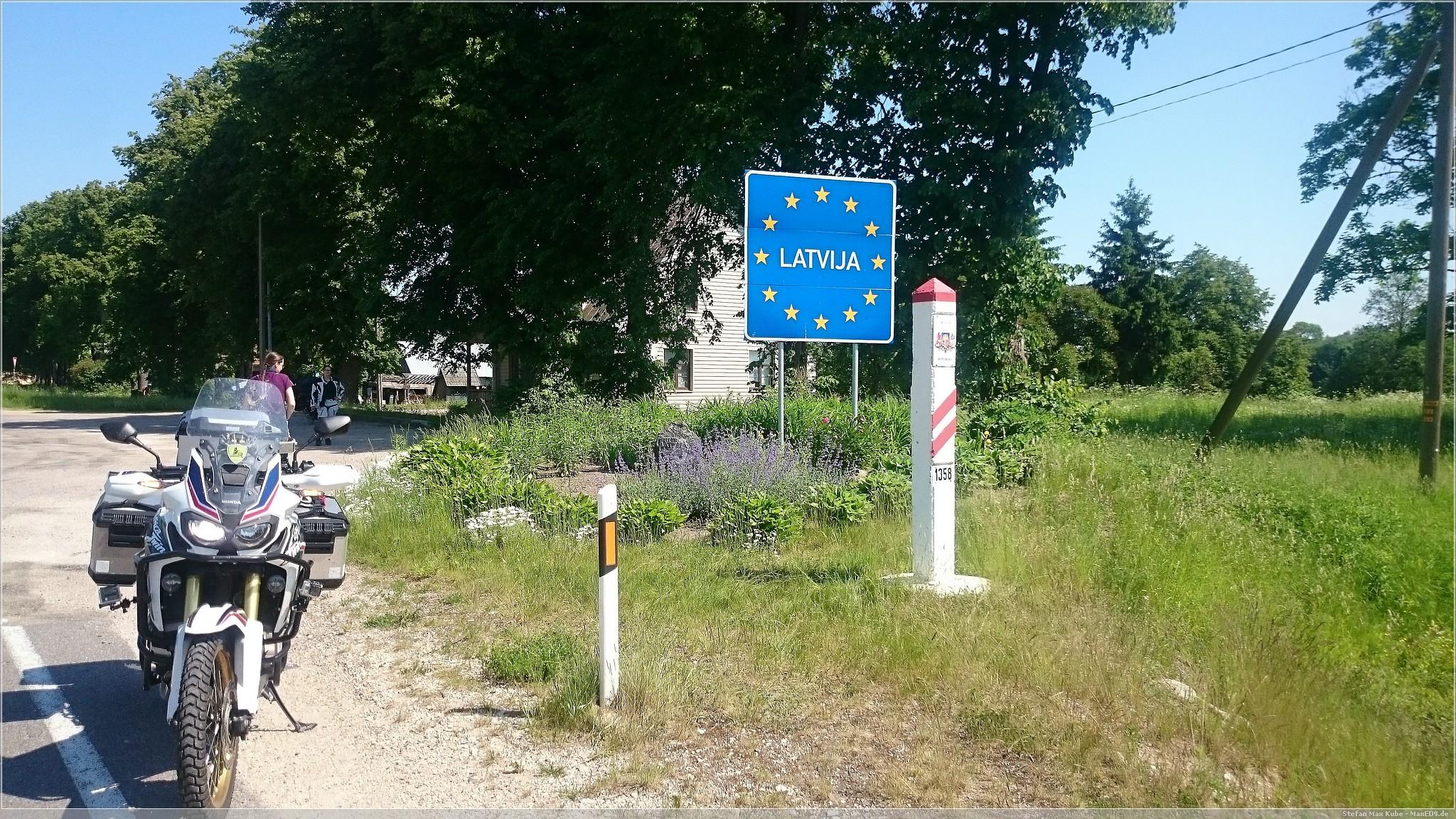 Grenze zu Lettland