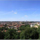 Bick über Vilnius von den drei Kreuzen