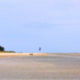 Kitesurfer am Kap Kolka