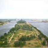 Blick über Riga vom Fernsehturm