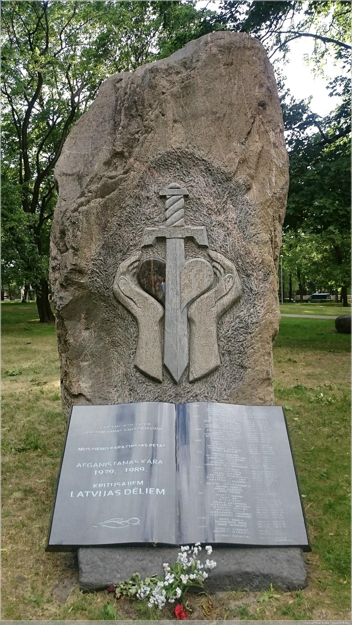 Denkmal Sowjetische Intervention in Afghanistan