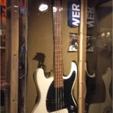 Johnnys white Mosrite guitar