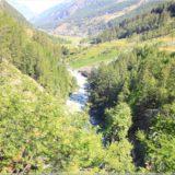 auf dem Weg nach Zermatt