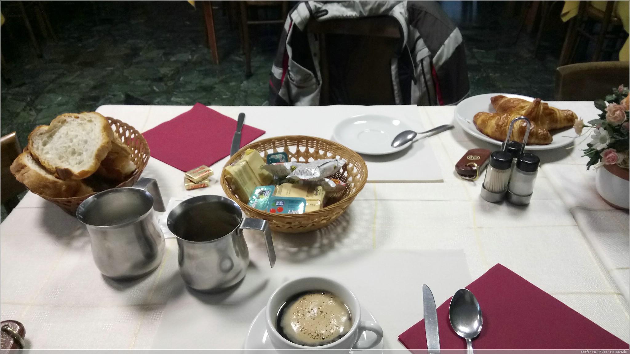 Frühstück in Re