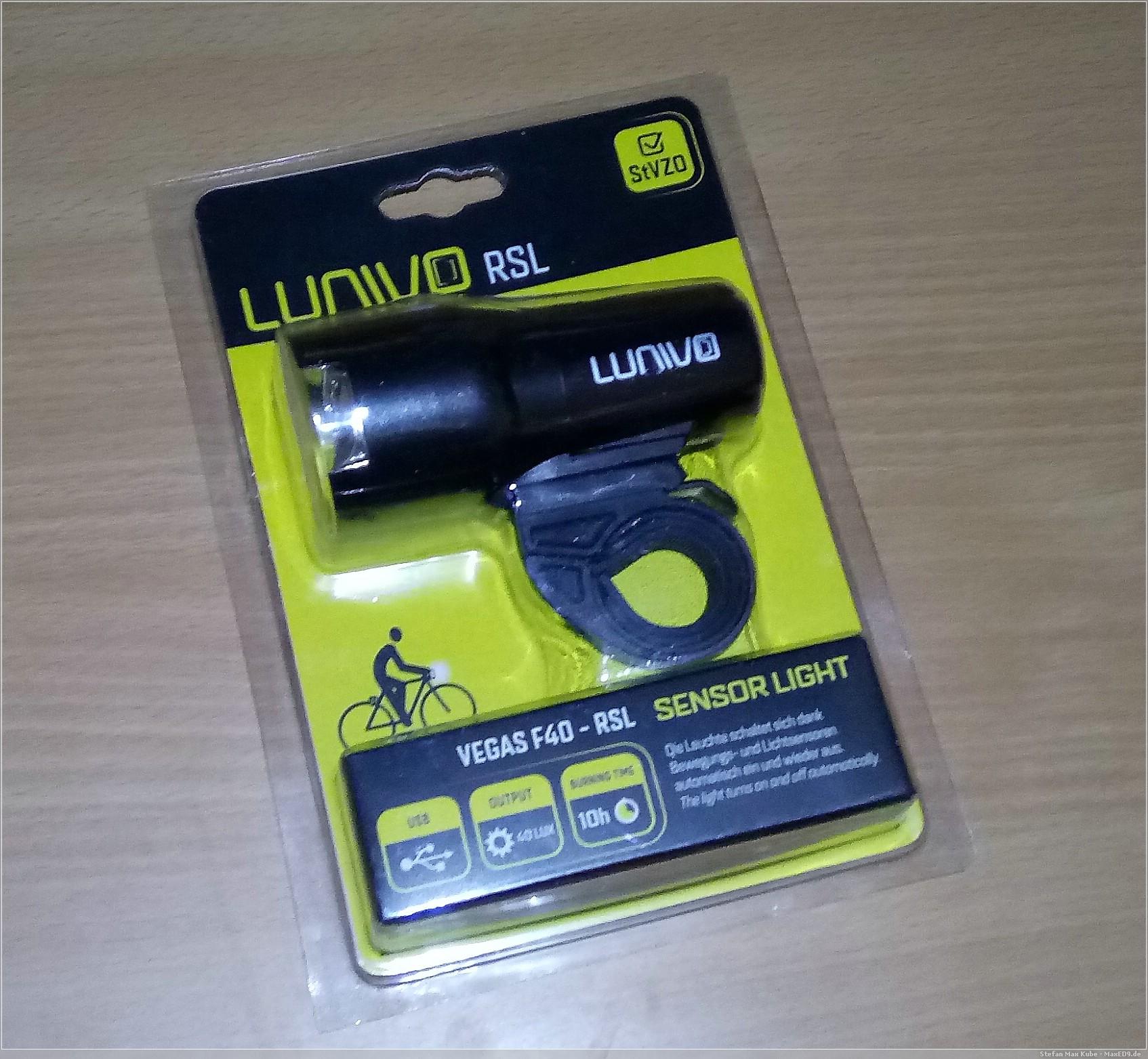 beleuchtet: Lunivo Vegas F40 RSL Sensor – Scheinwerfer