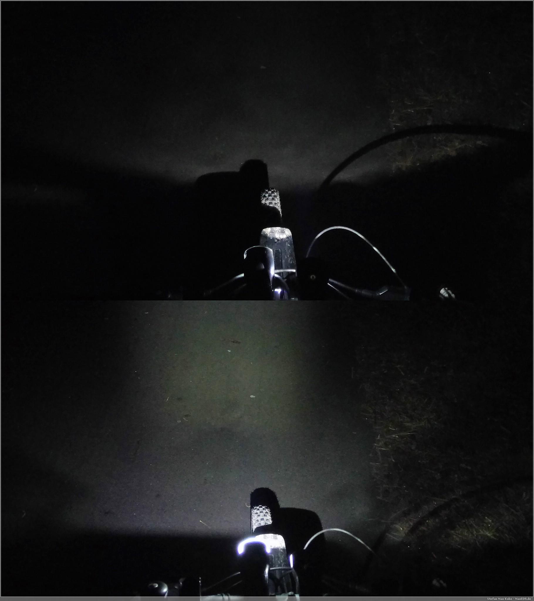 Vergleich: oben Büchel Oslo Sensor | unten Lunivo Vegas F40 RSL