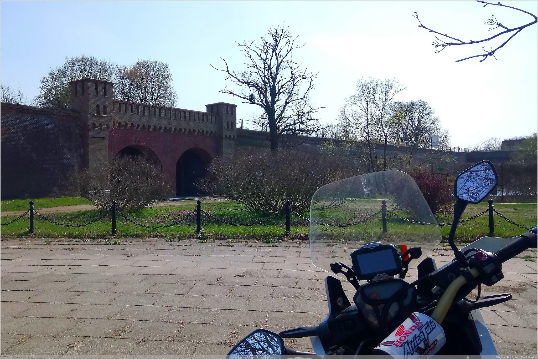 historisch: Festung Küstrin
