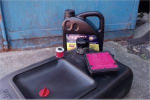 Honda Africa Twin: Ölwechsel, Filter und Öl