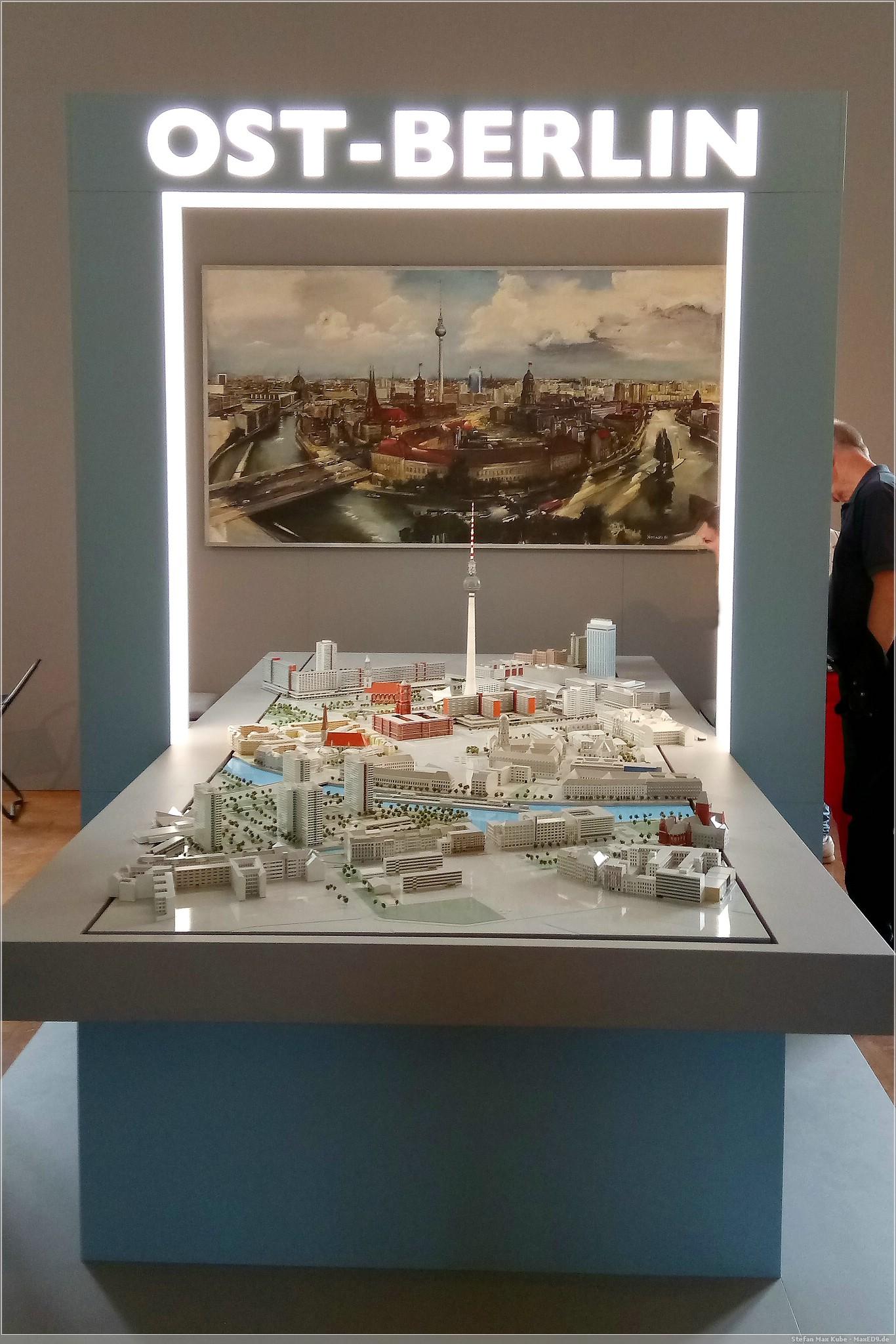 Modell der Innenstadt