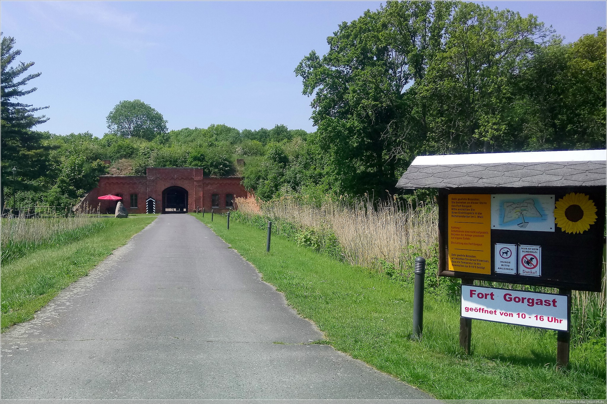 historisch: Fort Gorgast