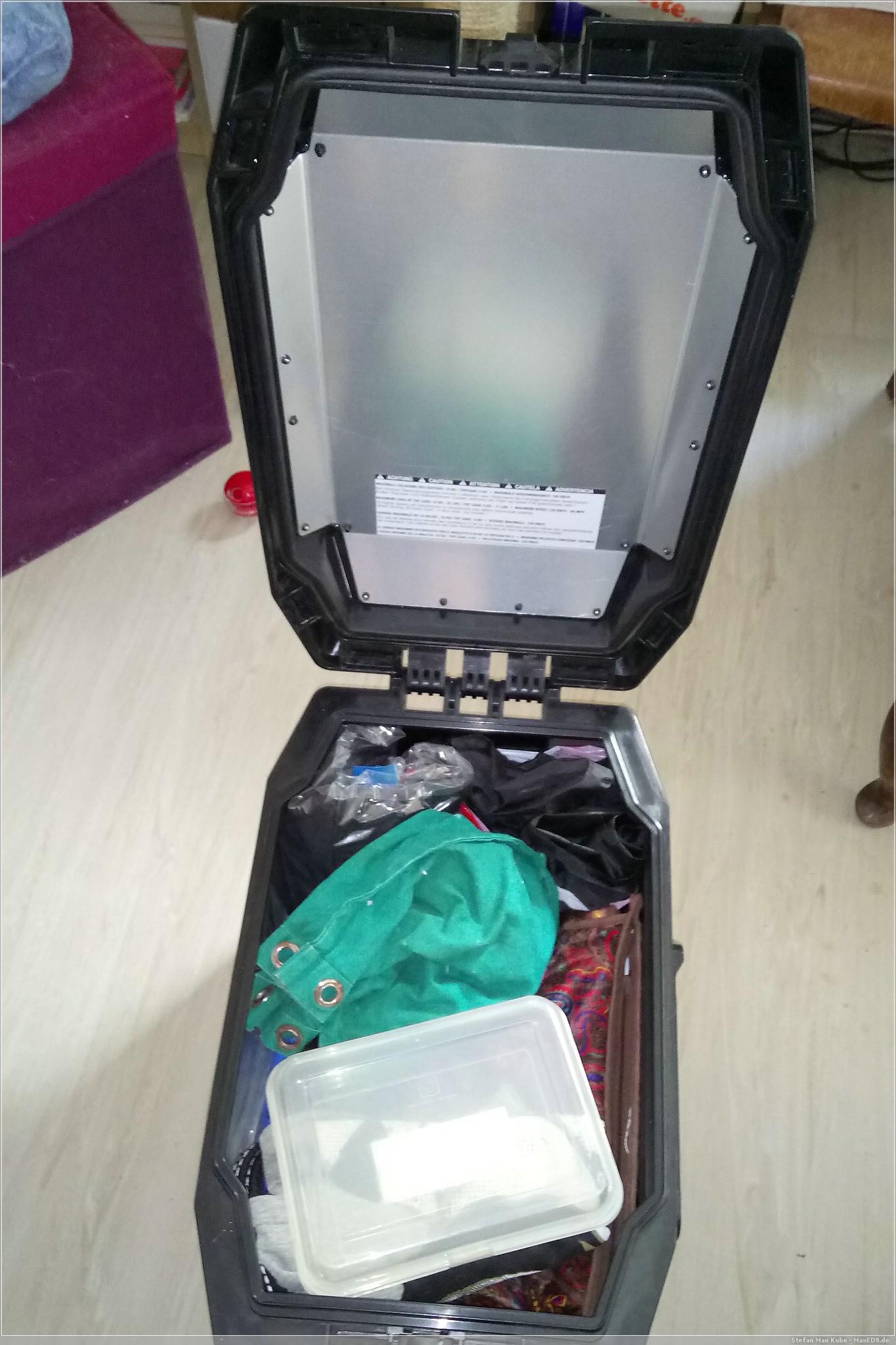 griffbereit: Ordnung im Mopped-Seitenkoffer