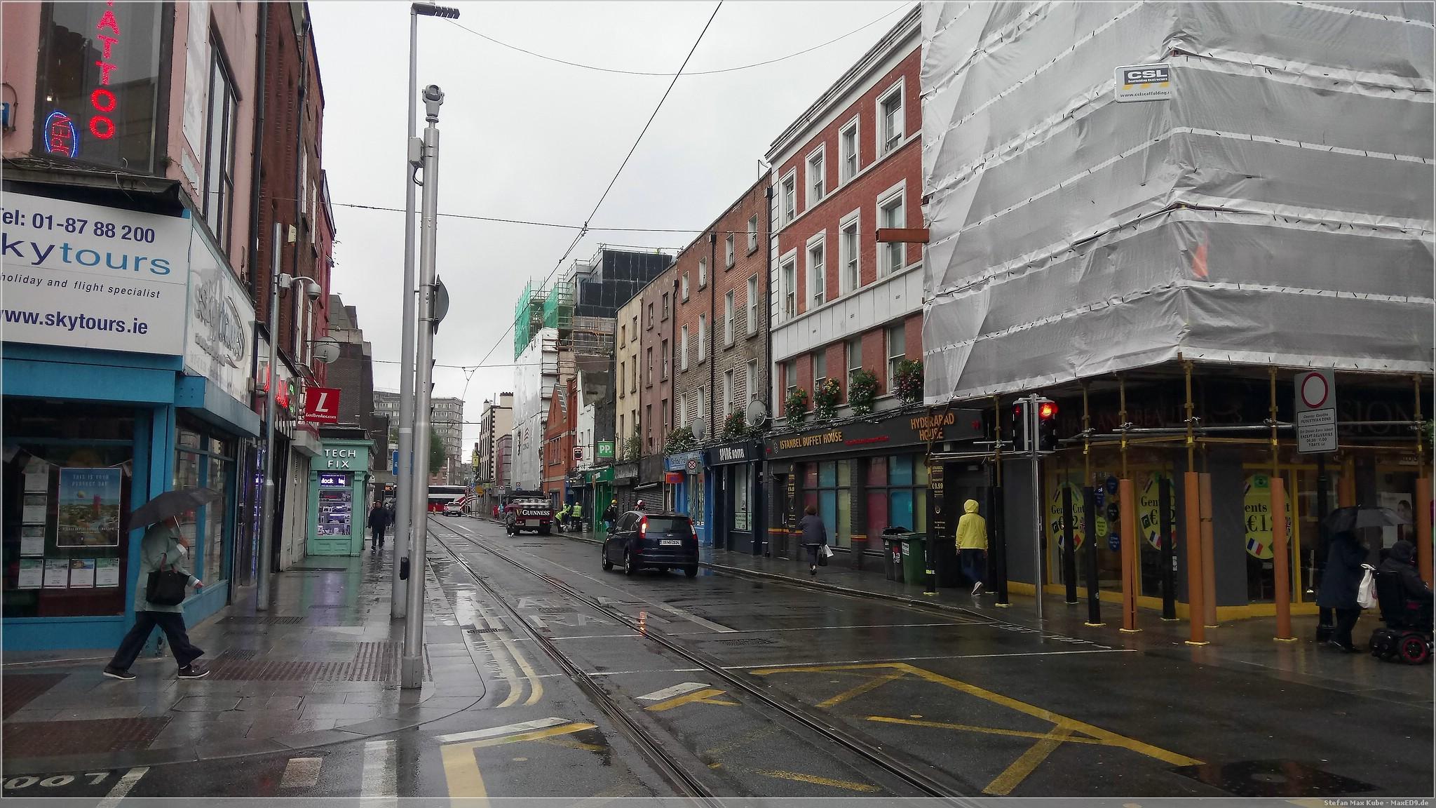 verregnetes Dublin