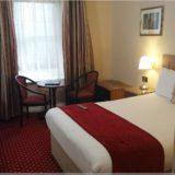 das Hotelzimmer in Dublin